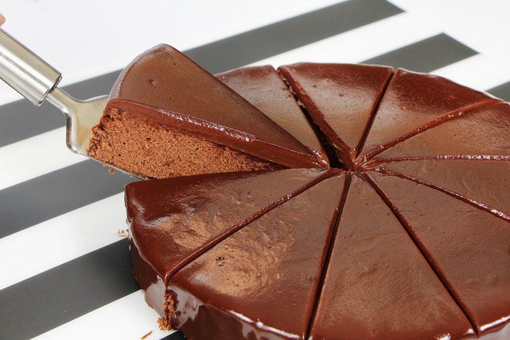 Porción de una tarta